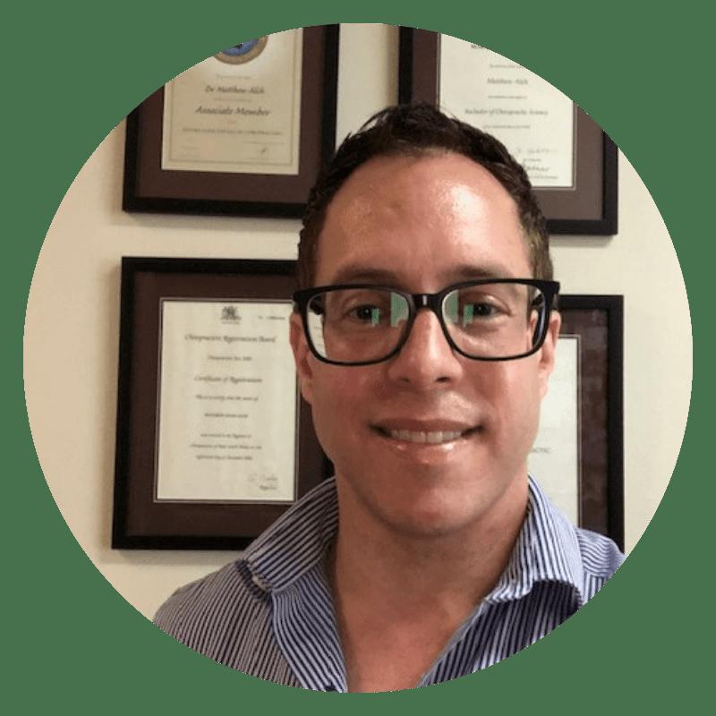Matthew Alch chiropractor coogee